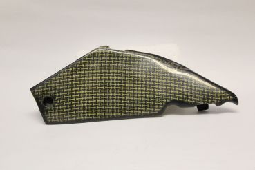 Aprilia RSV 1000 Mille 2001-2003 Sebimoto Höcker Rahmenschutz links Kohle-Kevlar frame protection for tail left side