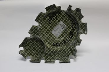 Suzuki GSX-R 600 2006-2007 und 750 2006-2007 Sebimoto Motordeckel rechts, Kupplungsdeckel Engine cover right side, Clutch cover K-K
