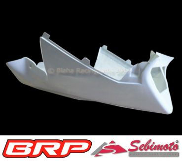 Aprilia RSV 1000 Mille 2001 - 2003 Sebimoto Rennverkleidung 4 tlg. + Höcker (für Originalsitz) fairing 4 parts + tailsection open (for original seat)