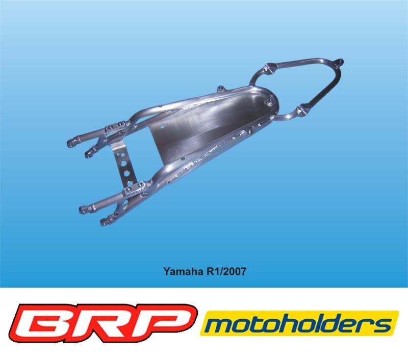 Yamaha YZF 1000 R1 2007 - 2008 Alu Heckrahmen / rear frame - BRP ...