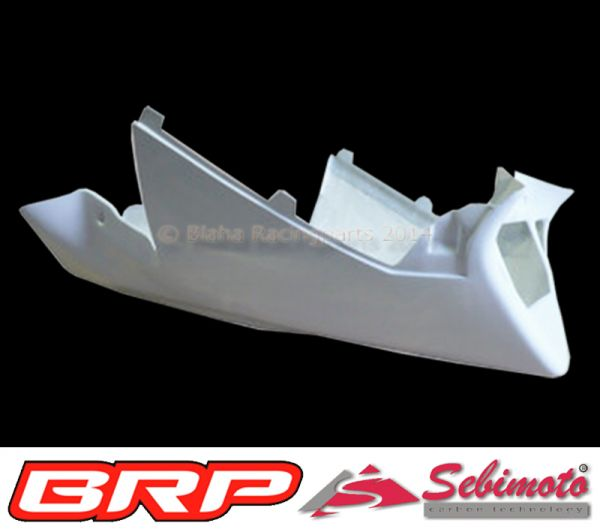 Aprilia RSV 1000 Mille 2001 - 2003 Sebimoto Rennverkleidung 4 tlg. + Höcker 2 tlg.  (für Moosgummi)  fairing 4 parts + tailsection 2 parts (for foam rubber)