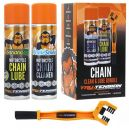 Monkey Juice Ketten Reinigungs Set Chain Clean & Lube Bundle, Chain Lube, Chain Clean, Kettenbürste
