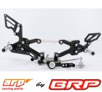 ARP Racing Fussrastenanlage Street Triple 675 2008-2012 Rear set
