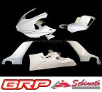 Yamaha YZF 600 R6 ab 2017 RJ27 Sebimoto Rennverkleidung 4 teilig plus Höcker geschlossene Sitzfläche für Moosgummiauflage racing fairing 4 parts inclusive tailsection closed seatplate for foam rubber